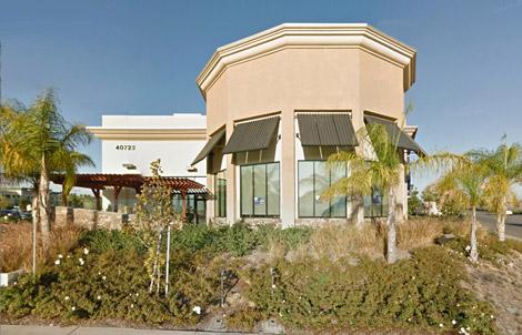 Security Bank of California - Murrieta branch